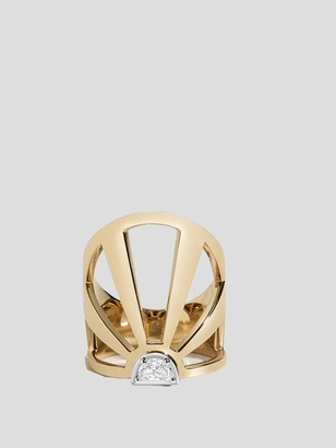 Selin Kent Summer Solstice 14k Yellow Gold and Diamond Ring