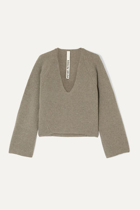 Petar Petrov Kenne Ribbed Cashmere Sweater - Stone