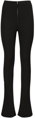 Thierry Mugler Techno Scuba High Waist Skinny Pants