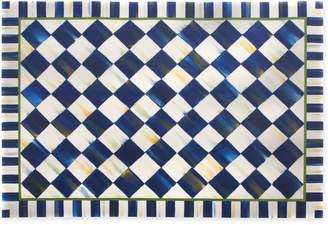 Mackenzie Childs MacKenzie-Childs Royal Check Floor Mat, 3' x 5'