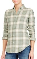 Polo Ralph Lauren Slim-Fit Plaid Cotton Shirt