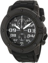 Glam Rock Men's GR33113 SoBe Chronograph Dial Silicon Watch
