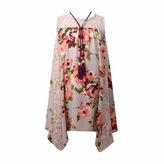 Bonnie Jean Sleeveless Peasant Dress w/ Necklace - Girls' 7-16