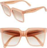 Celine 55mm Gradient Square Sunglasses