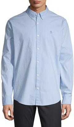 Original Penguin Long-Sleeve Poplin Shirt
