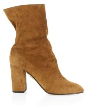 Aquazzura Boogie Slouch Ankle Boots