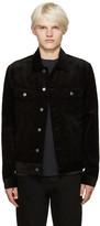 A.P.C. Black Corduroy Highway Jacket