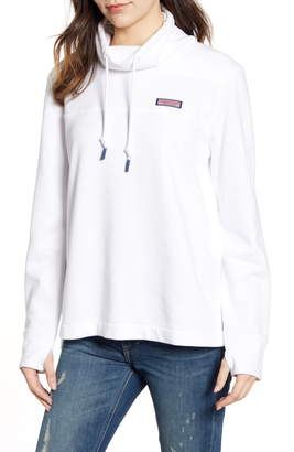 Vineyard Vines Classic Garment Dyed Funnel Neck Sweatshirt