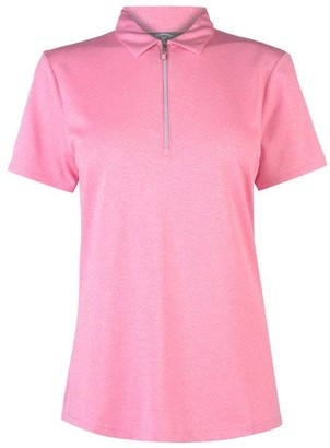 Callaway Short Sleeve Heathered Polo Ladies