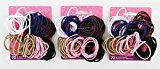 Goody Ouchless No Metal Gentle Elastics, Assorted Colors, 72 pack (4-Pack)