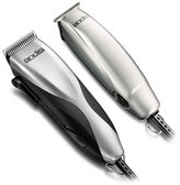 Andis Promotor and Clipper and Trimmer Combo Kit, Silver (29115)