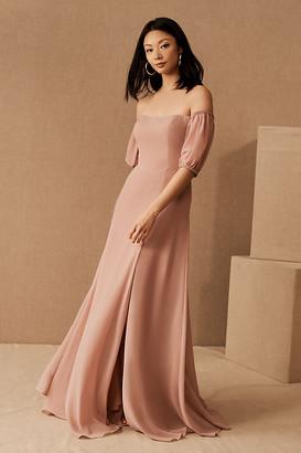 Jenny Yoo Jamie Dress By in Pink Size 0