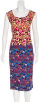 Marc Jacobs Floral Print Sheath Dress