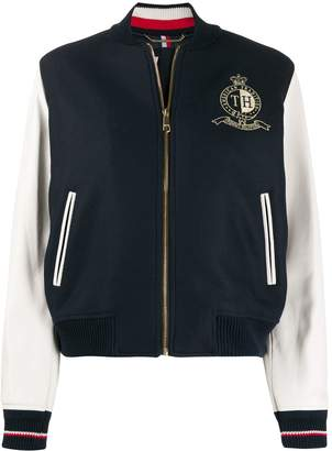 Tommy Hilfiger woven baseball jacket