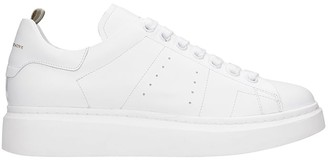 Officine Creative Krace 007 Sneakers In White Leather