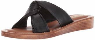 Bella Vita Womens Noa-Italy Black Italian Leather 7 W (D)