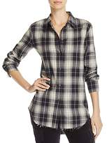 Vince Tartan Plaid Shirt