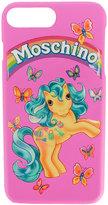 Moschino iPhone 7 Plus pony motif case