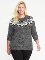 Old Navy Fair Isle Plus-Size Sweater