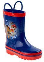 Disney NickelodeonTM Size 7-8 PAW Patrol Rain Boot in Navy/Red
