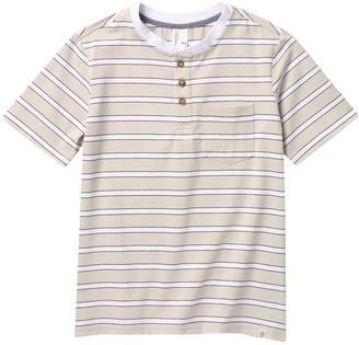 Sovereign Code Juno Striped Henley T-Shirt (Big Boys)