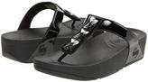 FitFlop Pietra (Patent) (Black Patent) - Footwear