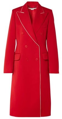 Stella McCartney Double-breasted Wool-twill Coat