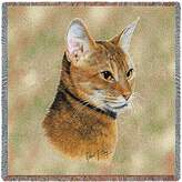 Pure Country Inc. Abyssinian Small Blanket Tapestry Throw