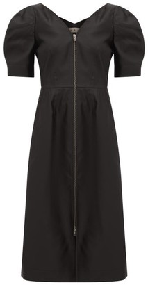 Marni V-neckline Gabardine Dress - Womens - Black