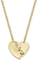 Marc by Marc Jacobs Broken Heart Pendant Necklace