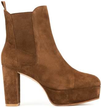 Stuart Weitzman platform ankle boots