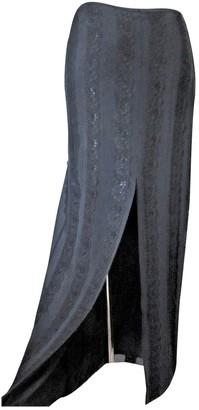 Whistles Black Silk Skirt for Women