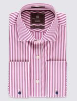 Marks and Spencer Pure Egyptian Cotton Bengal Striped Shirt