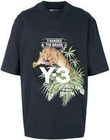Y-3 tiger motif T-shirt