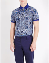 Etro Paisley Cotton-piqué Polo Shirt
