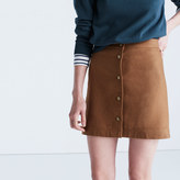 Madewell Button-Front Skirt