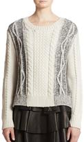 Derek Lam 10 Crosby Crew Neck Sweater