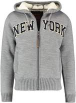 Schott NYC SHELT Cardigan heather grey