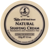 Taylor of Old Bond Street Natural Shave Cream Bowl by 150g Shave Cream)