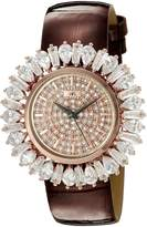 Adee Kaye Women's AK2421-LRG FIERCE COLLECTION Analog Display Analog Quartz Rose Gold Watch
