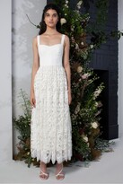 French Connection Eliza Lace Fit and Flare Wedding Dress