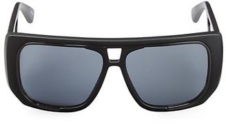 Moschino 58MM Shield Sunglasses