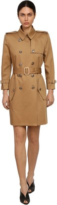 Givenchy Cotton Gabardine Trench Coat