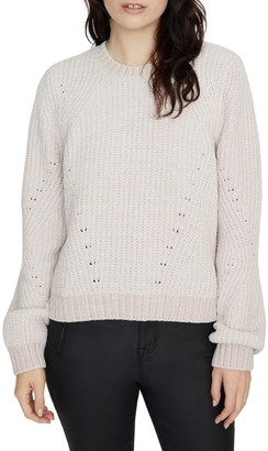 Sanctuary Chenille Out Pointelle Sweater