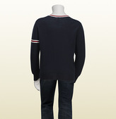 Gucci Long Sleeve V-Neck Sweater