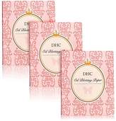 DHC Blotting Paper Pack of 3, includes 300 sheets