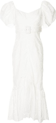 Alice McCall Cloud Obscurity embroidered midi dress