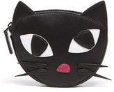 Lulu Guinness Women's Kooky Cat Foldaway Shopper Bag Black White