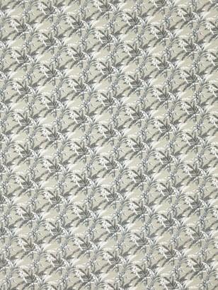 Sevenberry Crinkle Texture Plant Print Cotton Fabric, Multi