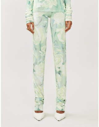 Selfridges Fenty Floral-print stretch-jersey leggings